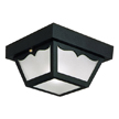 Design House Outdoor Ceiling Mount Light, 10.5-Inch by 5.5-Inch - 502872