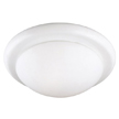 Design House 503250 2-Light Ceiling Mount Twist Off, White Finish