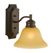 Design House Bristol 1-Light Wall Sconce, Oil Rubbed Bronze Finish - 504415