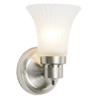 Design House 504977 The Village 1-Light Wall Sconce, Satin Nickel Finish