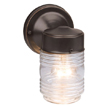 Design House 505198 Jelly Jar Outdoor Downlight, 4.5-Inch by 7.5-Inch
