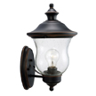 Design House 505362 Highland Outdoor Uplight, 7.5-Inch by 13-Inch