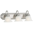 Design House 506584 Allante 3-Light Vanity, Satin Nickel Finish