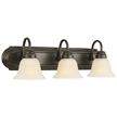 Design House 506618 Allante 3-Light Vanity, Oil Rubbed Bronze Finish