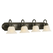 Design House 506626 Allante 4-Light Vanity, Oil Rubbed Bronze Finish