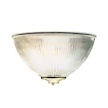 Design House Millbridge 1-Light Half-Sphere Wall Sconce -
