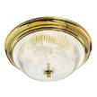 Design House 507236 3-Light Ceiling Mount, Polished Brass Finish
