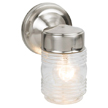 Design House 507806 Jelly Jar Outdoor Downlight, 4.5-Inch by 7.5-Inch