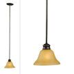 Design House Bristol 1-Light Mini Pendant, Oil Rubbed Bronze Finish - 509026