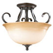 Design House Cameron 2-Light Semi-Flush Pendant - 5126