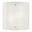 Design House 512905 Weston 2-Light Half-Cylinder Wall Sconce, Satin Nickel