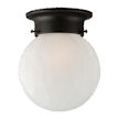 Design House Millbridge 1-Light Globe Ceiling Mount -