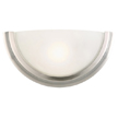 Design House 514562 Fairfax 1-Light Wall Sconce, Satin Nickel Finish