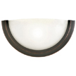 Design House 514570 Fairfax 1-Light Wall Sconce, Oil Rubbed Bronze Finish