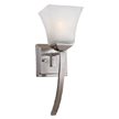 Design House 514786 Torino 1-Light Extended Wall Sconce, Satin Nickel Finish