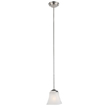 Design House 514851 Torino Mini Pendant, Satin Nickel Finish