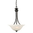Design House 514950 Drake 2-Light Pendant, Oil Rubbed Bronze Finish