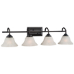Design House 514984 Drake 4-Light Vanity Light, Oil Rubbed Bronze Finish