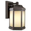 Design House Bennett Outdoor Fluorescent Downlight, Oil Rubbed Bronze Finish - 514992