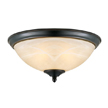 Design House 517375 Trevie 2-Light Flush Ceiling Mount Light
