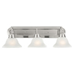 Design House 517383 Millbridge 3-Light Vanity Light, Satin Nickel Finish