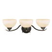 Design House 517466 Trevie 3-Light Vanity Light, Oil Rubbed Bronze Finish