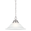 Design House 517565 Millbridge Large Pendant, Satin Nickel Finish