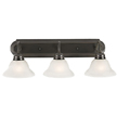 Design House 517615 Millbridge 3-Light Vanity Light, Oil Rubbed Bronze Finish