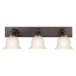 Design House 517649 Ironwood 3-Light Vanity, Brushed Bronze Finish