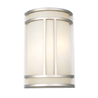 Design House 517706 Easton 2-Light Wall Sconce, Satin Nickel Finish