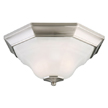 Design House 517953 Barcelona 2-Light Flush Mount Ceiling Light