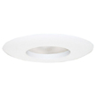 Design House 519538 6-Inch Recessed Lighting Wide Ring Trim, White Finish