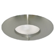 Design House 519546 6-Inch Recessed Lighting Wide Ring Trim, Satin Nickel Finish