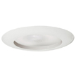 Design House 519553 6-Inch Recessed Lighting Narrow Trim, White Finish