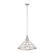 Design House 519660 Ajax 1-Light Pendant, Galvanized Finish