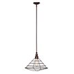 Design House 519678 Ajax 1-Light Pendant, Galvanized Finish