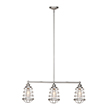 Design House 519744 Ajax 3-Light Pendant, Galvanized Finish