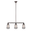 Design House 519785 Ajax 3-Light Pendant, Coffee Bronze Finish