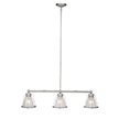 Design House 519801 Essex 3-Light Pendant, Galvanized Finish