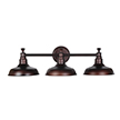 Design House 520320 Kimball 3-Light Bathroom Vanity Light, Coffee Bronze Finish