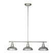Design House 520379 Kimball 3-Light Pendant, Galvanized Steel Finish