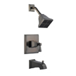 Design House 522037 Torino Tub and Shower Faucet, Brushed Bronze Finish