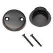 Design House 522714 Toe Tap Bath Drain in Oil Rubbed Bronze