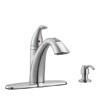 Design House Bellevue Kitchen Faucet with Soap Dispenser and Sprayer - 522847