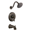 Design House 523464 Oakmont Tub and Shower Faucet, Oil Rubbed Bronze Finish