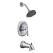 Design House 524637 Eden Tub and Shower Faucet, Polished Chrome Finish