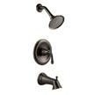Design House 524652 Eden Tub and Shower Faucet, Oil Rubbed Bronze Finish