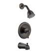 Design House 524686 Ironwood Tub and Shower Faucet, Brushed Bronze Finish