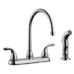 Design House 525071 Ashland High Arch Kitchen Faucet with Sprayer