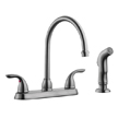 Design House 525089 Ashland High Arch Kitchen Faucet with Sprayer